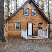 Family Friendly Rustic Newly Renovated Cabin Abutting The White Lake State Park