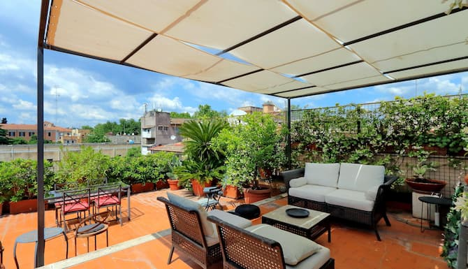 Trastevere Charming Penthouse In Rome Italy Expedia