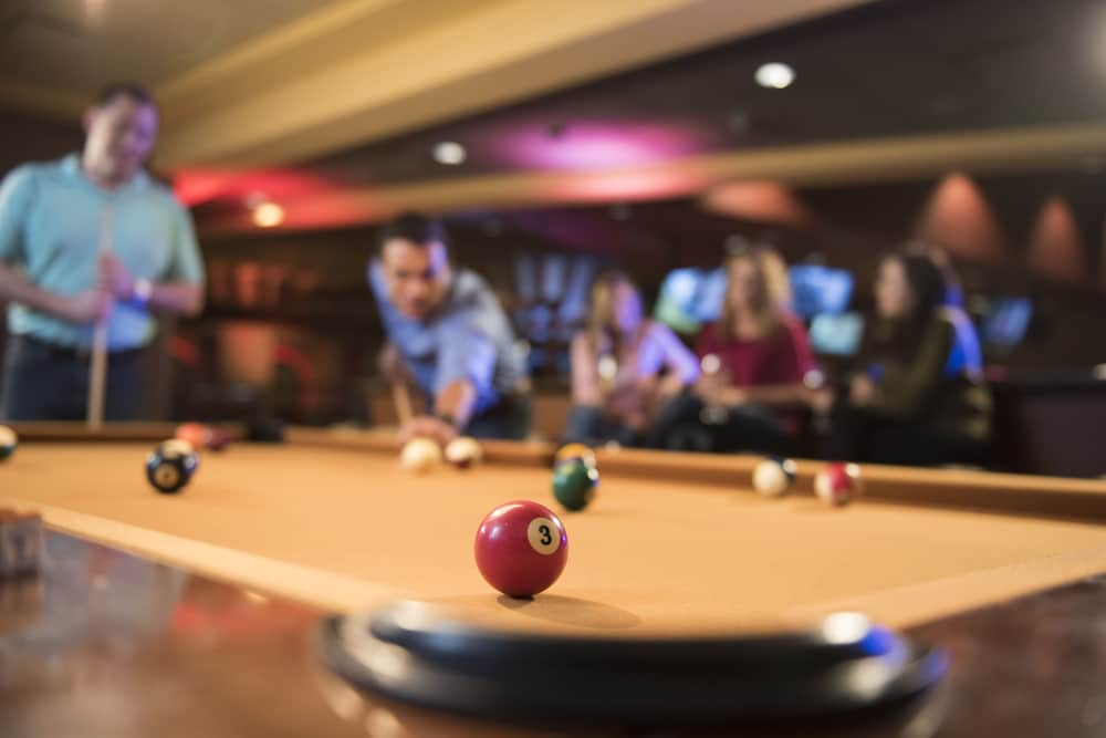 Billiards, River Bend Casino & Hotel
