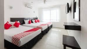 1 dormitorio, minibar, caja fuerte y wifi gratis
