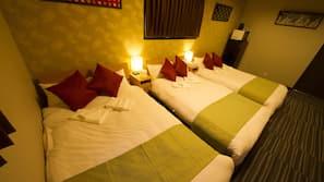 4 slaapkamers, een laptopwerkplek, gratis wifi