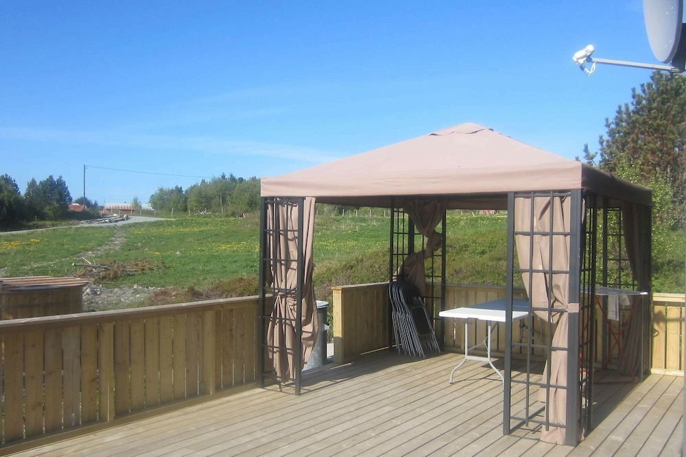 Balcony, 4 Star Holiday Home in Storfosna