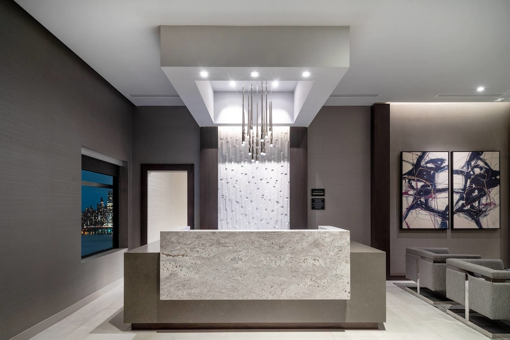 Lobby, Residence Inn by Marriott Weehawken