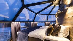 1 makuuhuone, ylelliset vuodevaatteet, työpöytä, ilmainen Wi-Fi