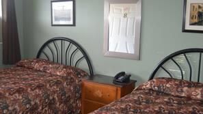 Blackout drapes, free WiFi, linens, wheelchair access