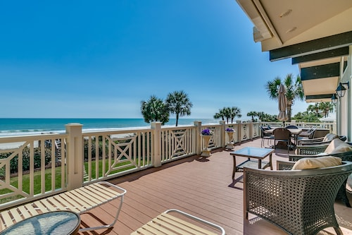 Gorgeous! 5 Bedroom 4.5 Bath Beach Home w/ Pool ~ Hot Tub ~ Game Room ~ Balcony!