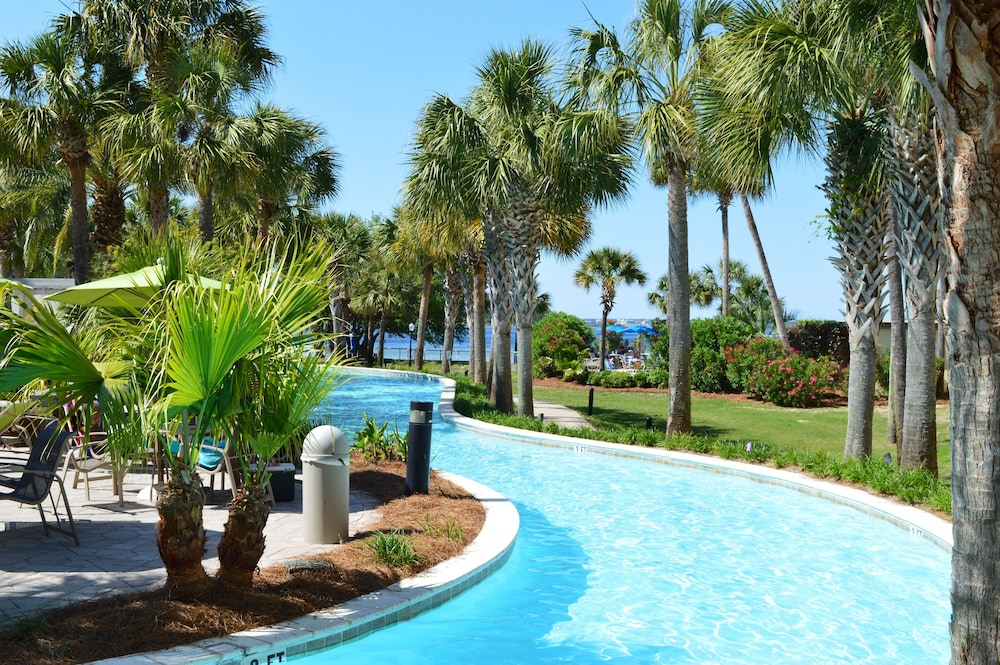 Remodelednew Everything?destin West Bayside?view of the Lazy River on