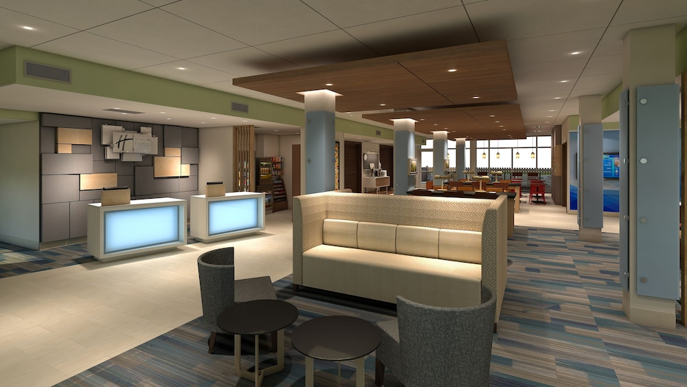 Lobby, Holiday Inn Express & Suites Merrillville