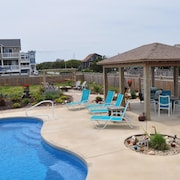 Ocean View, Private Saltwater Pool, Direct Beach Access, Sleeps 12, New!