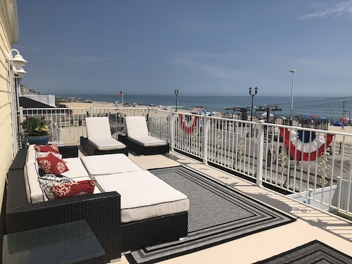 Oceanfront Property With Luxury Amenities ON the Boardwalk!