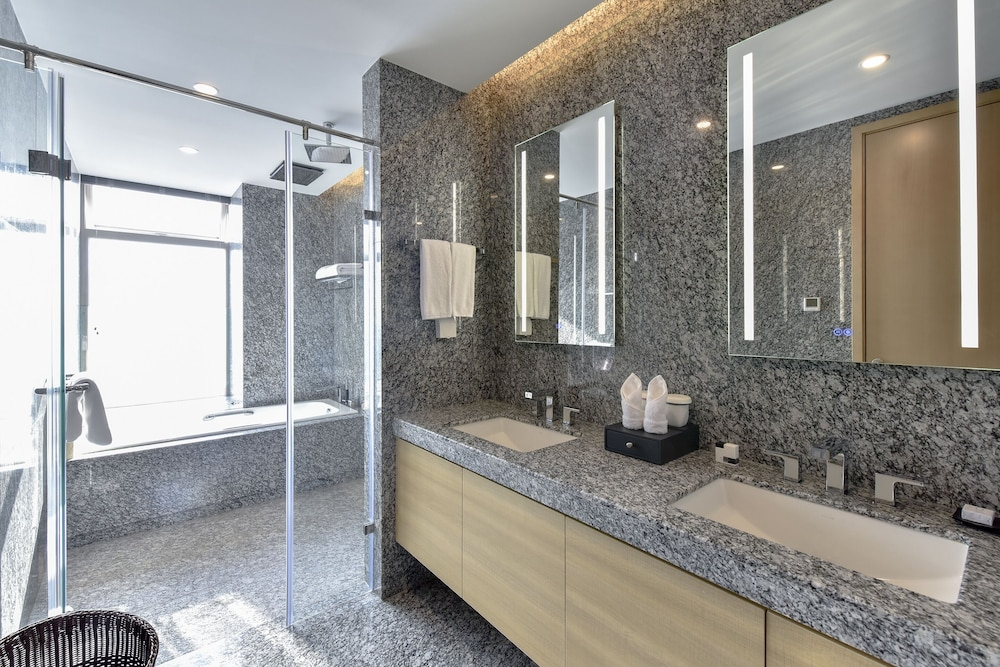 Bathroom, The Clouds Apartment