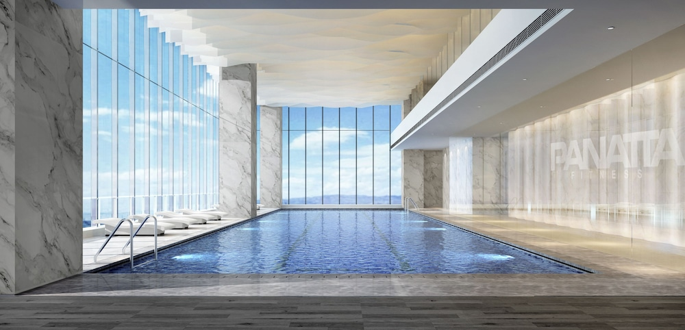 Indoor Pool, The Clouds Apartment