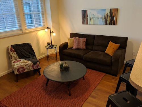 Great Place to stay Boho Industrial 2BR Apt Near Mass Ave near Indianapolis