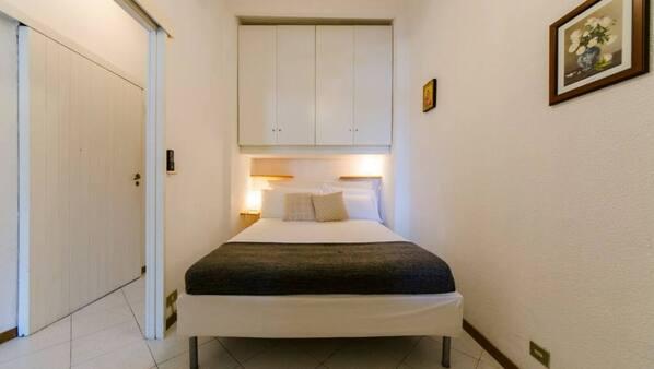2 sovrum och sängkläder
