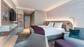 Zimmersafe, Schreibtisch, schallisolierte Zimmer, kostenloses WLAN