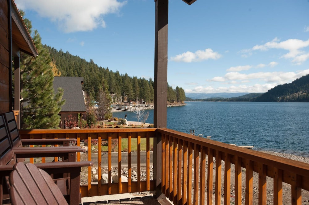 Balcony, Donner Vista on Donner Lake - 180 Degree View, Private Communal Dock!