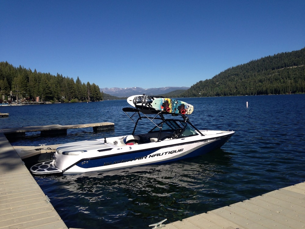 Lake, Donner Vista on Donner Lake - 180 Degree View, Private Communal Dock!