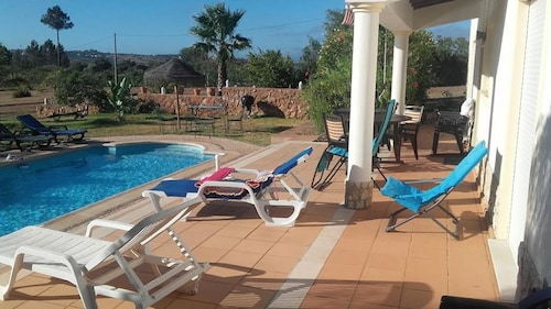Villa With 3 Bedrooms in Luz, With Private Pool, Enclosed Garden and Wifi - 1 km From the Beach
