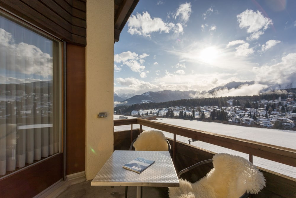 View from Property, T3 Alpenhotel Flims