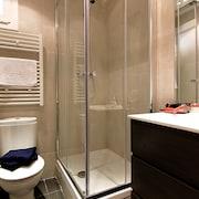 Ducha en el cuarto de baño