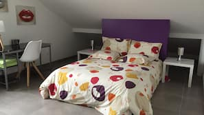 5 chambres, literie de qualité supérieure, décoration personnalisée