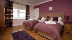 2 多间卧室、熨斗/熨衣板、免费 WiFi、床单