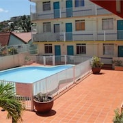 Studio in Trois Îlets, With Pool Access, Enclosed Garden and Wifi - 20 m From the Beach