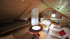 1 makuuhuone, silitysrauta/-lauta