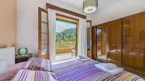 3 sovrum, strykjärn/strykbräda, gratis barnsängar och sängkläder