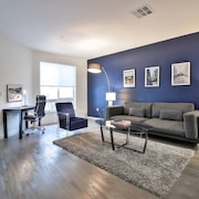 Modern + Clean Silicon Valley 1BR Apt @airesanjose - One Bedroom Apartment, Sleeps 4