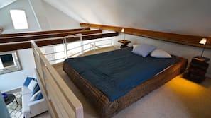 2 soveværelser, sengetøj