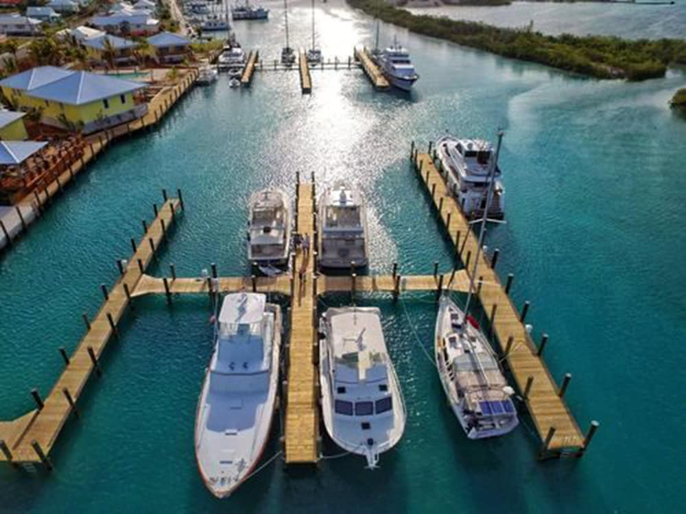 Aerial View, Spanish Wells Yacht Haven