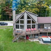 The Ridge Chalet, an A-frame Killington Home
