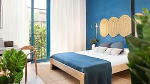 Ropa de cama hipoalergénica, caja fuerte, cortinas opacas