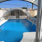 Apartment With 2 Bedrooms in El Chaparral, With Wonderful sea View, Pool Access, Furnished Terrace - 3 km From the Beach