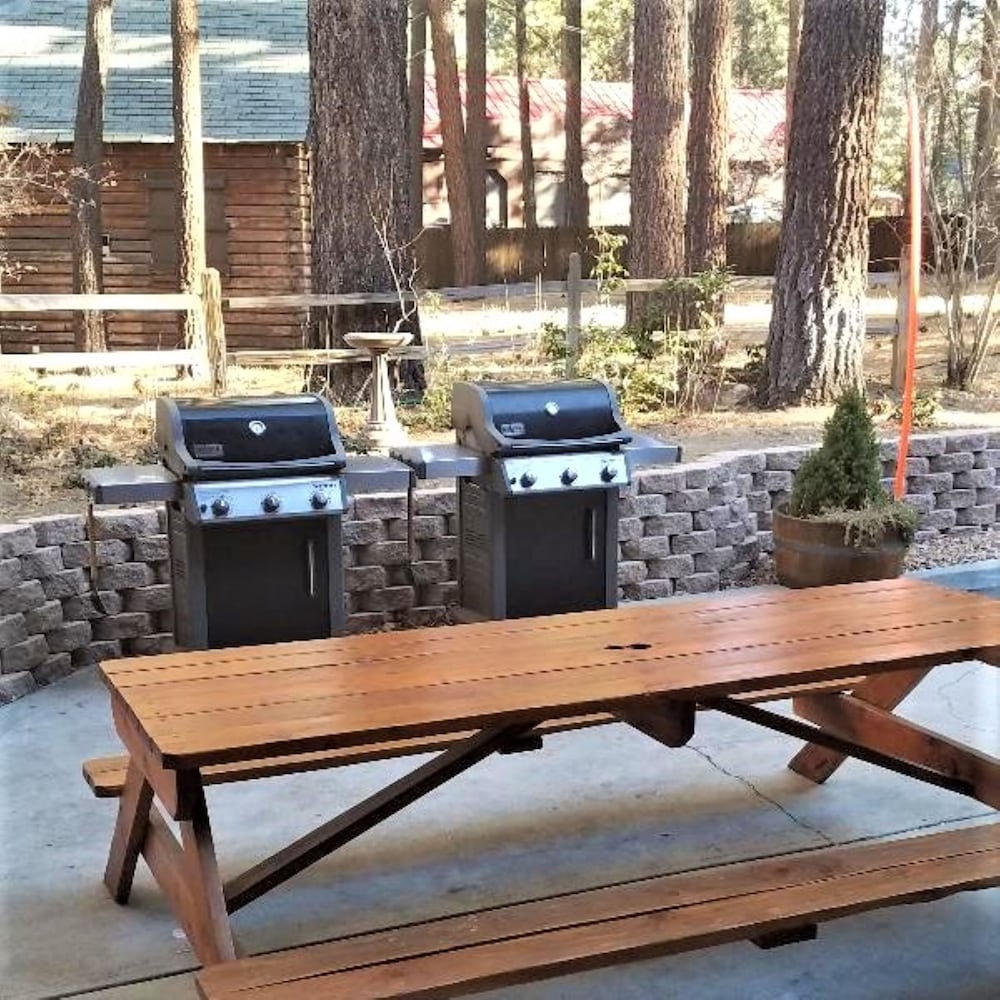 BBQ/Picnic Area, Snow Lake Lodge