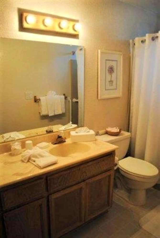 Bathroom, Snow Lake Lodge