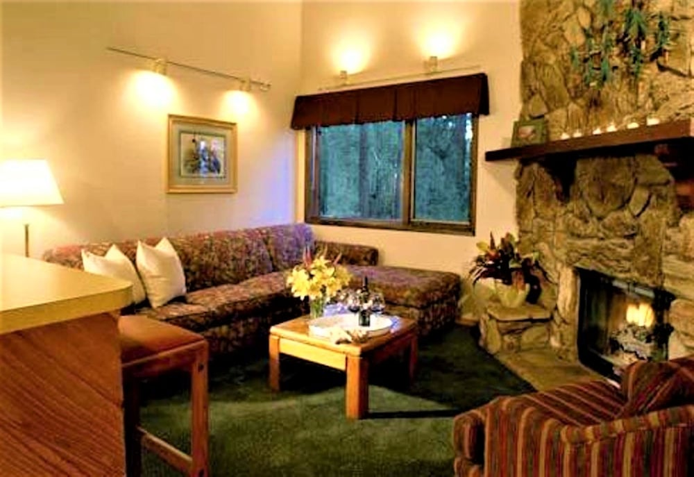 Living Room, Snow Lake Lodge