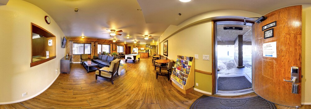 Interior, Snow Lake Lodge