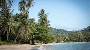海灘、瑜珈
