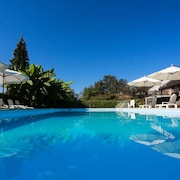 Villa With 8 Bedrooms in Haut-de-bosdarros, With Private Pool, Furnished Garden and Wifi - 130 km From the Beach
