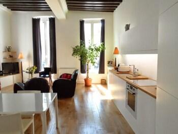 By Place Des Vosges- Heart of Marais-16th Cent-large-elegant