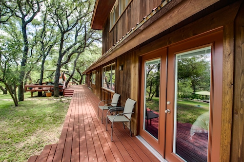 Great Place to stay Gorgeous Cabin w/ Pool, Large Yard & Separate Studio - Dogs OK! near Dripping Springs