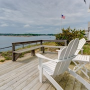 NEW Listing! Waterfront Home W/deck, Patio, bay Views & Direct Beach Access!