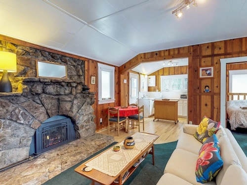 Dog-friendly Cottage in the Woods - Walk to Beautiful Beach, Dining, & Casino!