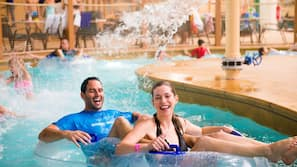 5 indoor pools, seasonal outdoor pool, cabanas (surcharge)