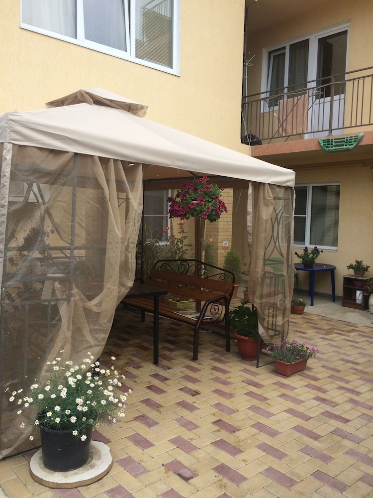 Courtyard, Antonina Guest House