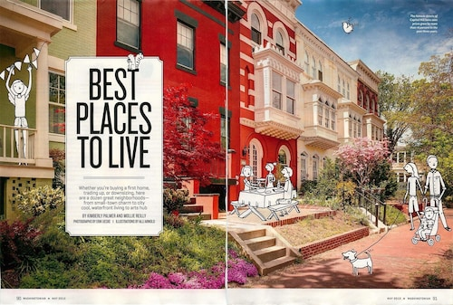 Featured in Washingtonian Magazine as DCs Best Place to Live