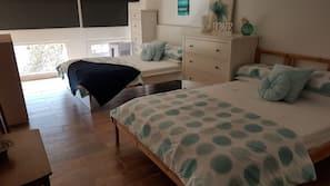 1 間臥室、熨斗/熨衫板、上網、床單