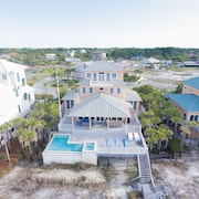 Gulf Front With Private Beach And Infiniti Pool!
